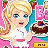Baby Princesses Cake Cooking