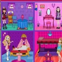 Ever After High Doll House Decoration