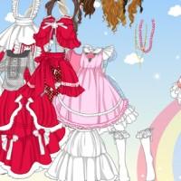 Anime Doll Costume