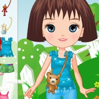 Cute Doll Dress Up