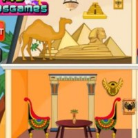 Egyptian Princess Doll House Decor