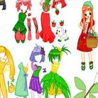 Fruit Doll Dress Up