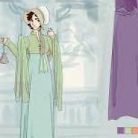 Regency Dress Up Doll